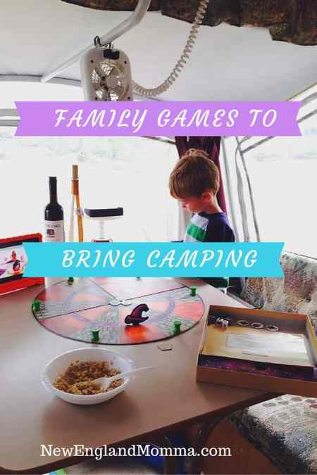 Family Games to Bring Camping