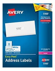 Avery Labels