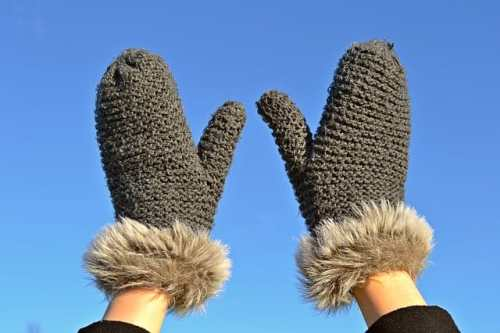 Going to be outside in winter? Layers, Hats and Mittens!