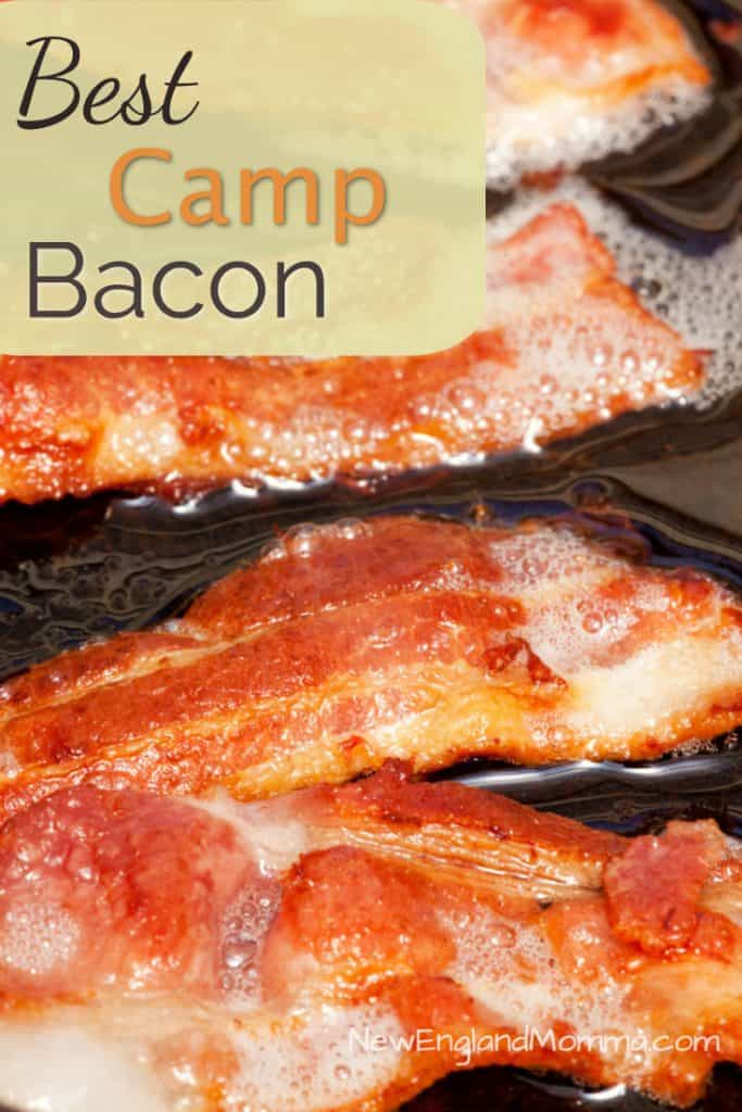 There's nothing like the smell of bacon when you're camping! Here's how to cook it when you're camping!