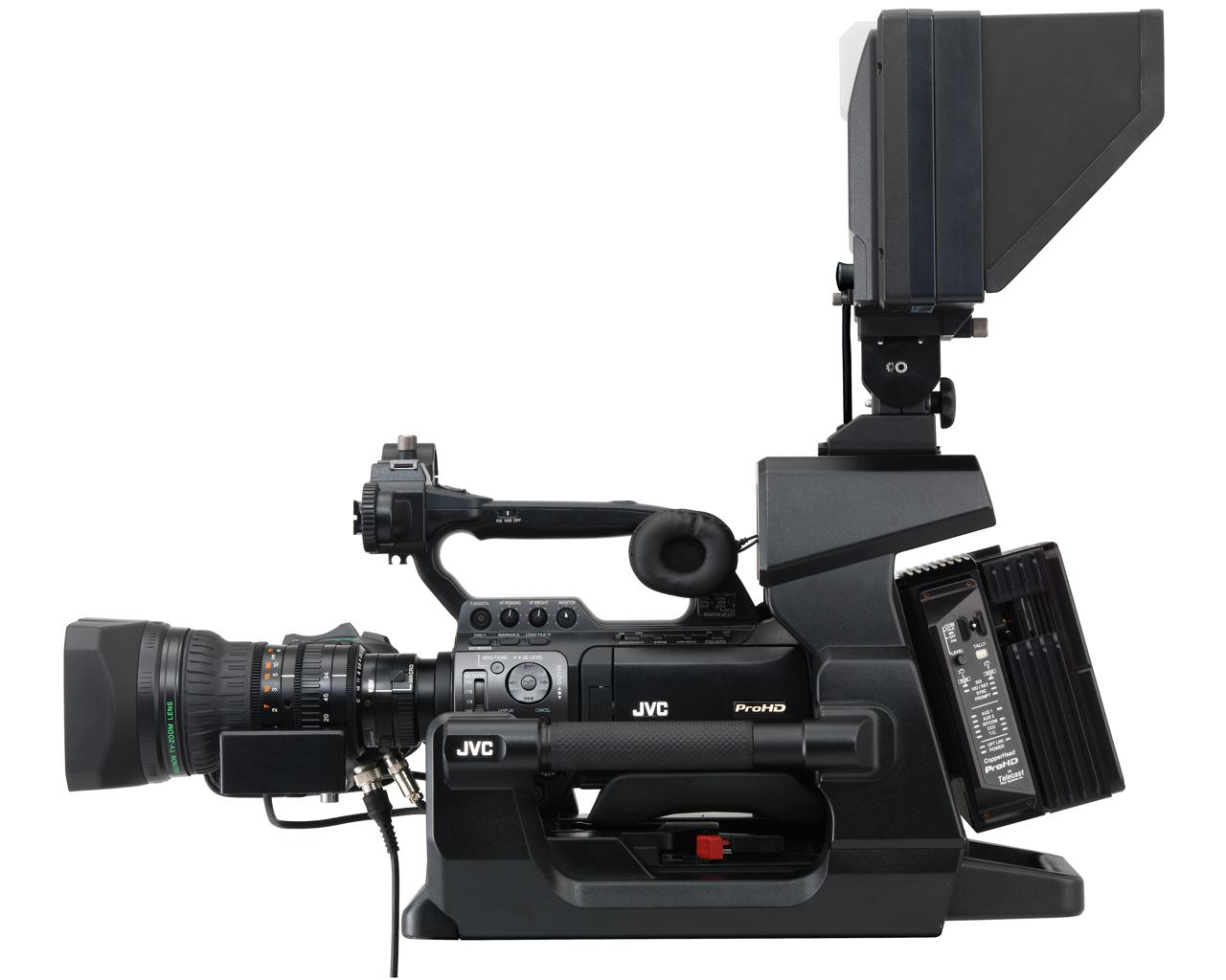 JVC GY-HM890RE Shoulder-mount studio live streaming ENG HD camcorder - New  Era Electronic Solutions Ltd