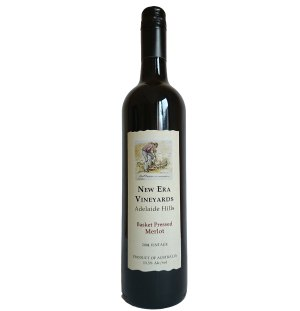 2004 Basket Pressed Merlot- $34.99