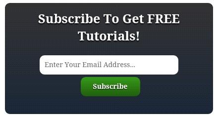 Email subscription box newfeatureblig