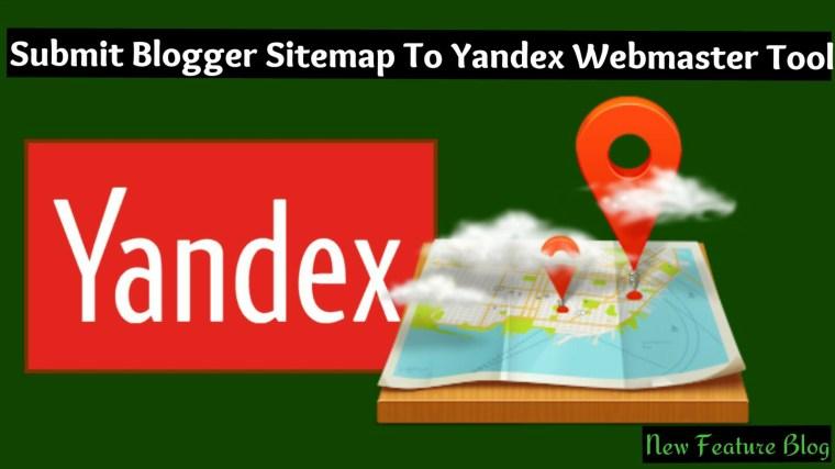 blog ke sitemap ko yandex webmaster tool me submit kaise kare