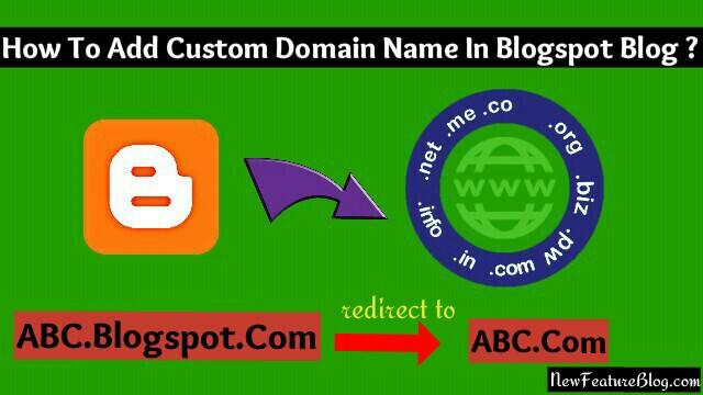Blogspot blog me custom domain name kaise add kare