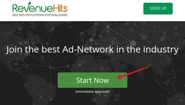 click-on-start-now-of-revenuehit-sign-up-page