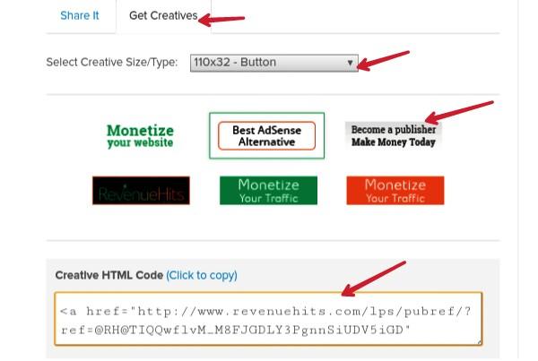copy-html-code-of-revenuehits