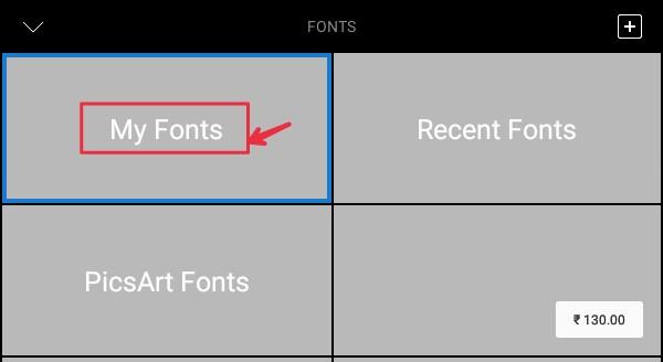 PicsArt में Stylish Custom Fonts कैसे Add करे ? - New