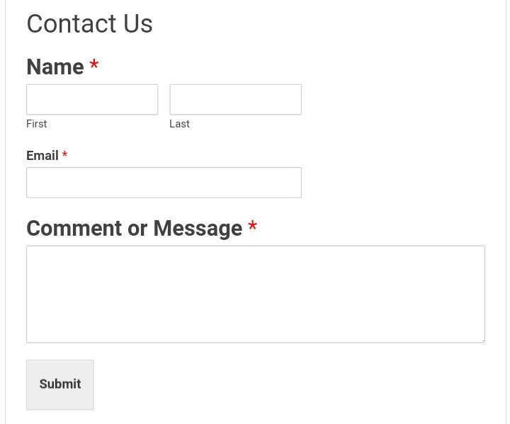 contact us form of newfeatureblog