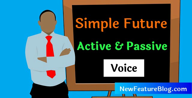 active passive voice simple future tense excercise