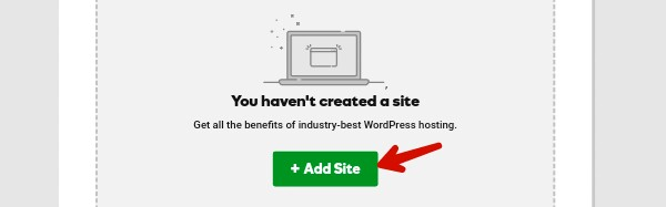add site in godaddy hosting