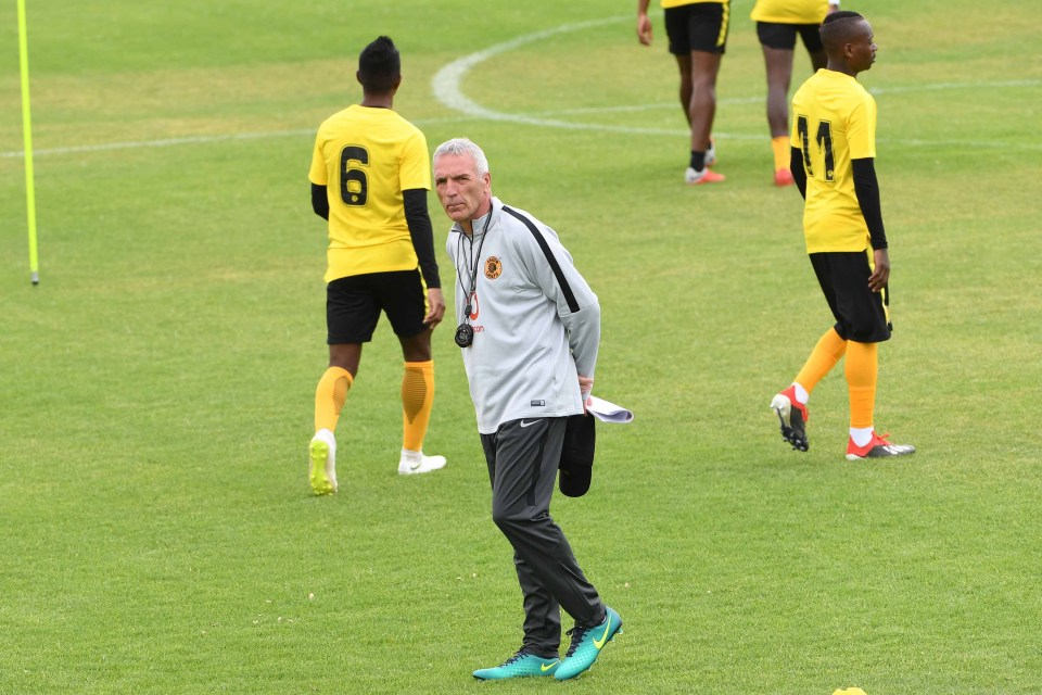 10 December 2018: Ernst Middendorp during the Kaizer Chiefs media open day at Naturena in Johannesburg. (Photograph by Lee Warren/Gallo Images)