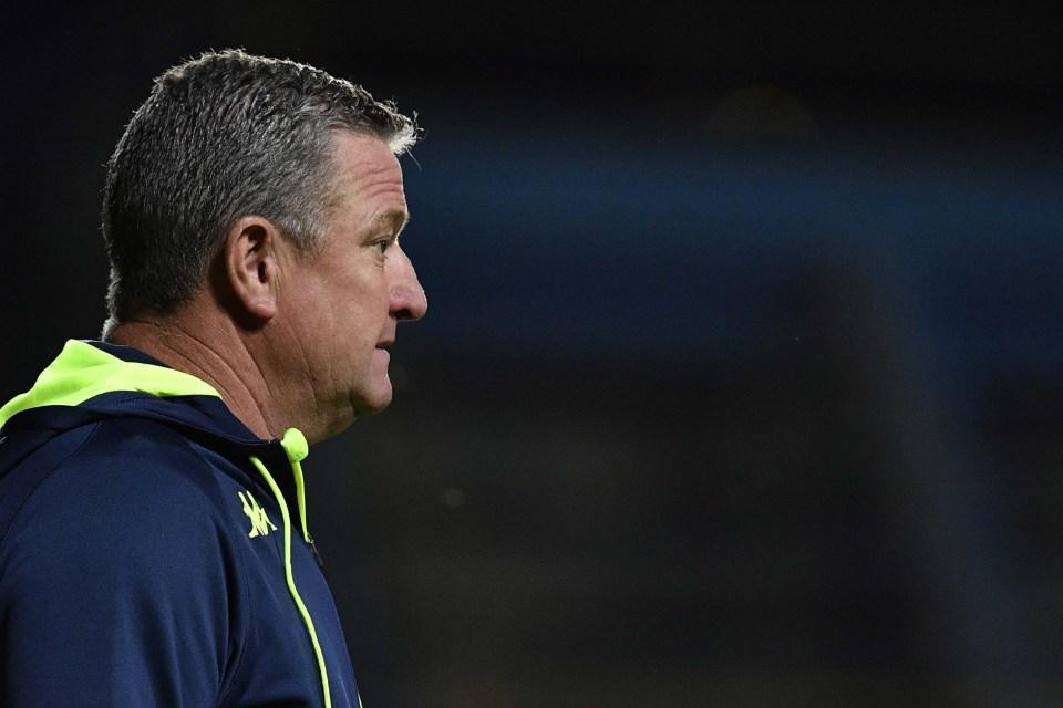 26 October 2018: Gavin Hunt during the Absa Premiership match between Bidvest Wits and Highlands Park at Bidvest Stadium in Johannesburg. (Photograph by Lefty Shivambu/Gallo Images)