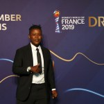 8 December 2018: Former Banyana Banyana striker Portia Modise at the Fifa Women's World Cup France 2019 draw in Paris. She is one of 13 women Fifa appointed as ambassadors for the tournament. (Photograph by Dean Mouhtaropoulos/Getty Images)