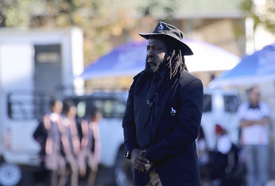 Phiwe Nomlomo is inspired by the struggle Tana Umaga has endured in his turbulent coaching career at the Blues. (Photograph supplied by Selborne College)