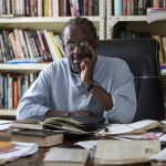 Philosopher Mabogo More in his study at his home in Pinetown, Durban. (Photograph courtesy of Rogan Ward/Mail & Guardian)