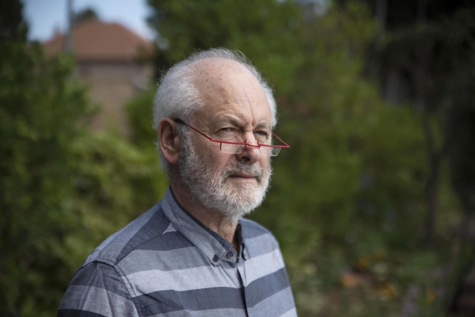 10 December 2018: Professor Raymond Suttner at his home in Johannesburg.