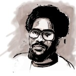 Walter Rodney was an outstanding scholar and orator whose human empathy and charisma made him popular on campus and in poor communities. (Illustration by Anastasya Eliseeva)