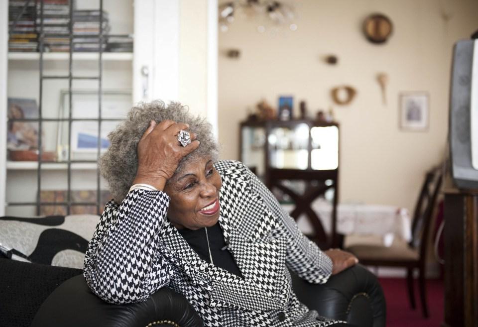 12 June 2014: Legendary singer Dorothy Masuku in her home in Yeoville. She died on Saturday 23 February.