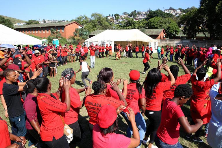 Abahlali baseMjondolo's annual Unfreedom Day Rally held at the Springfield Park Sports Ground, Durban on 22 April 2018.