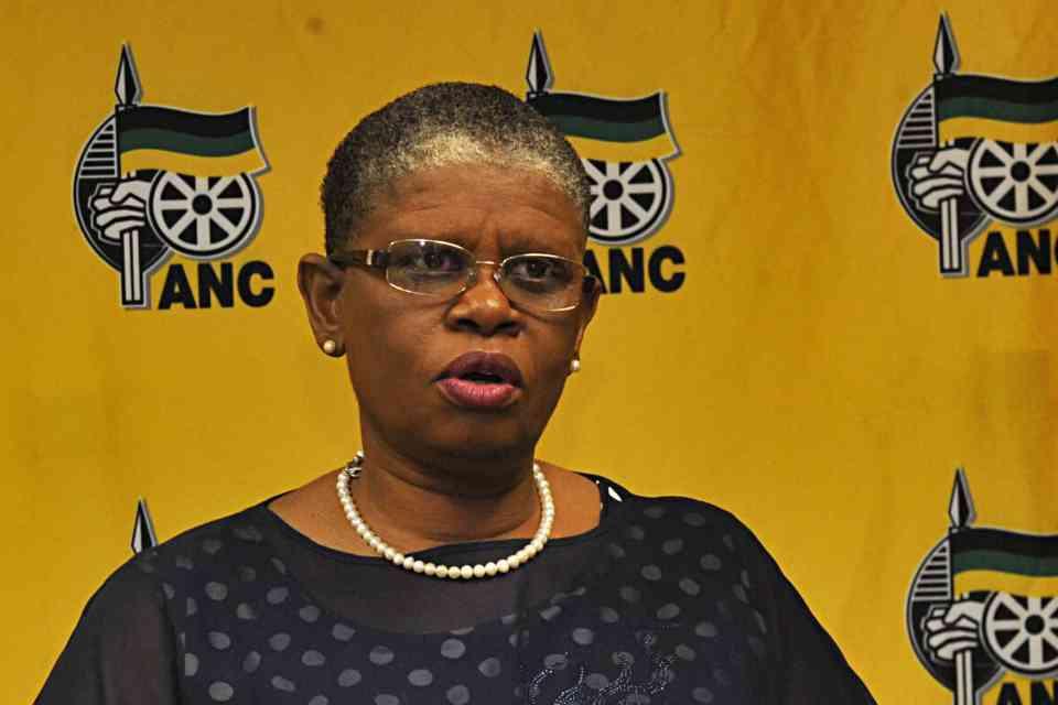 13 September 2017: eThekwini mayor Zandile Gumede during a media briefing in Durban. (Photograph by Gallo Images/Daily Sun/Jabulani Langa)