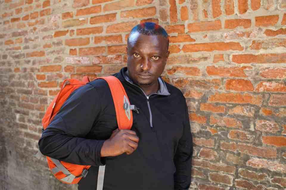 2011: In his writing, Binyavanga Wainaina mixed things with empathy, wide-eyed wonder and humility. (Photograph: ©Basso Cannarsa/Opale)