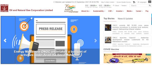 ONGC Apply Online 2021