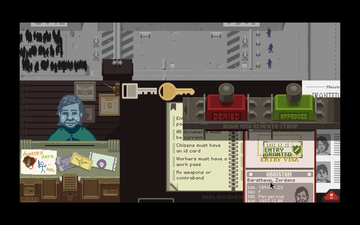 Papers Please Screenshots Image 12948 New Game Network