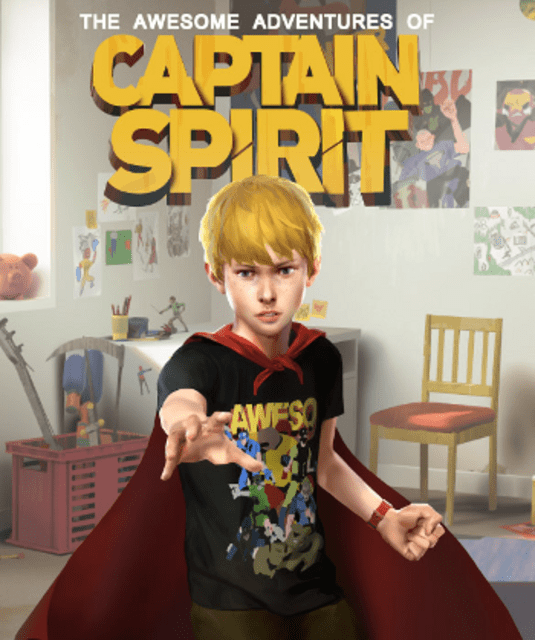 The Awesome Adventures Of Captain Spirit PlayStation 4