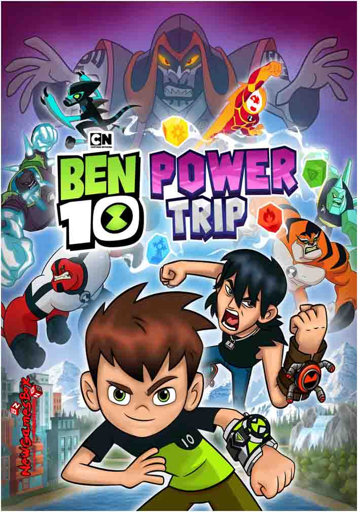 Ben 10 Power Trip Free Download PC Game Setup