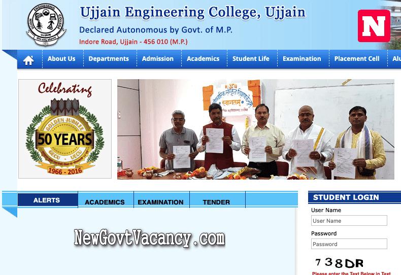 Ujjain Engineering College Ujjain UECU