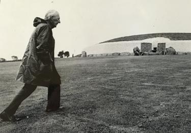 Michael J. O'Kelly at Newgrange