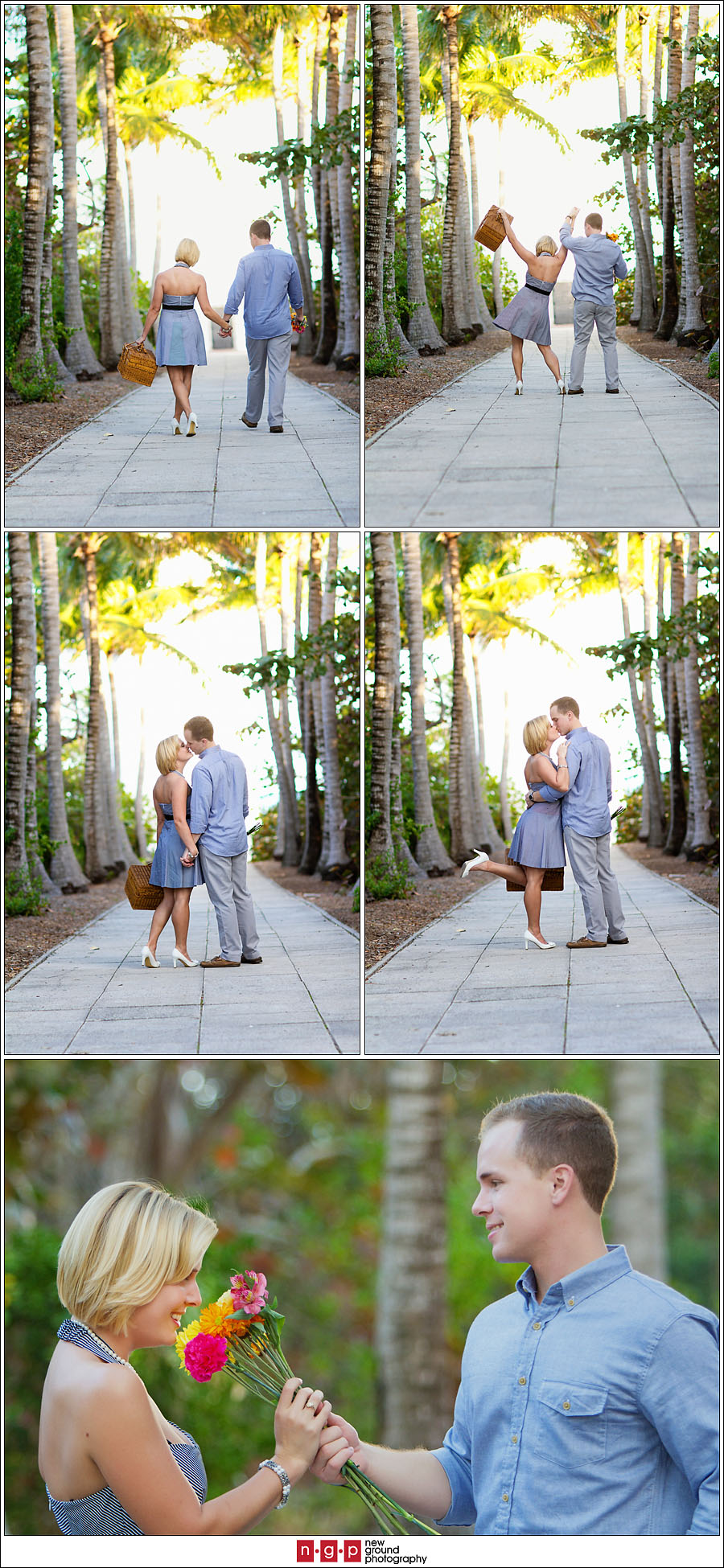 Key Biscayne Engagement Casey Tate Miami Engagement