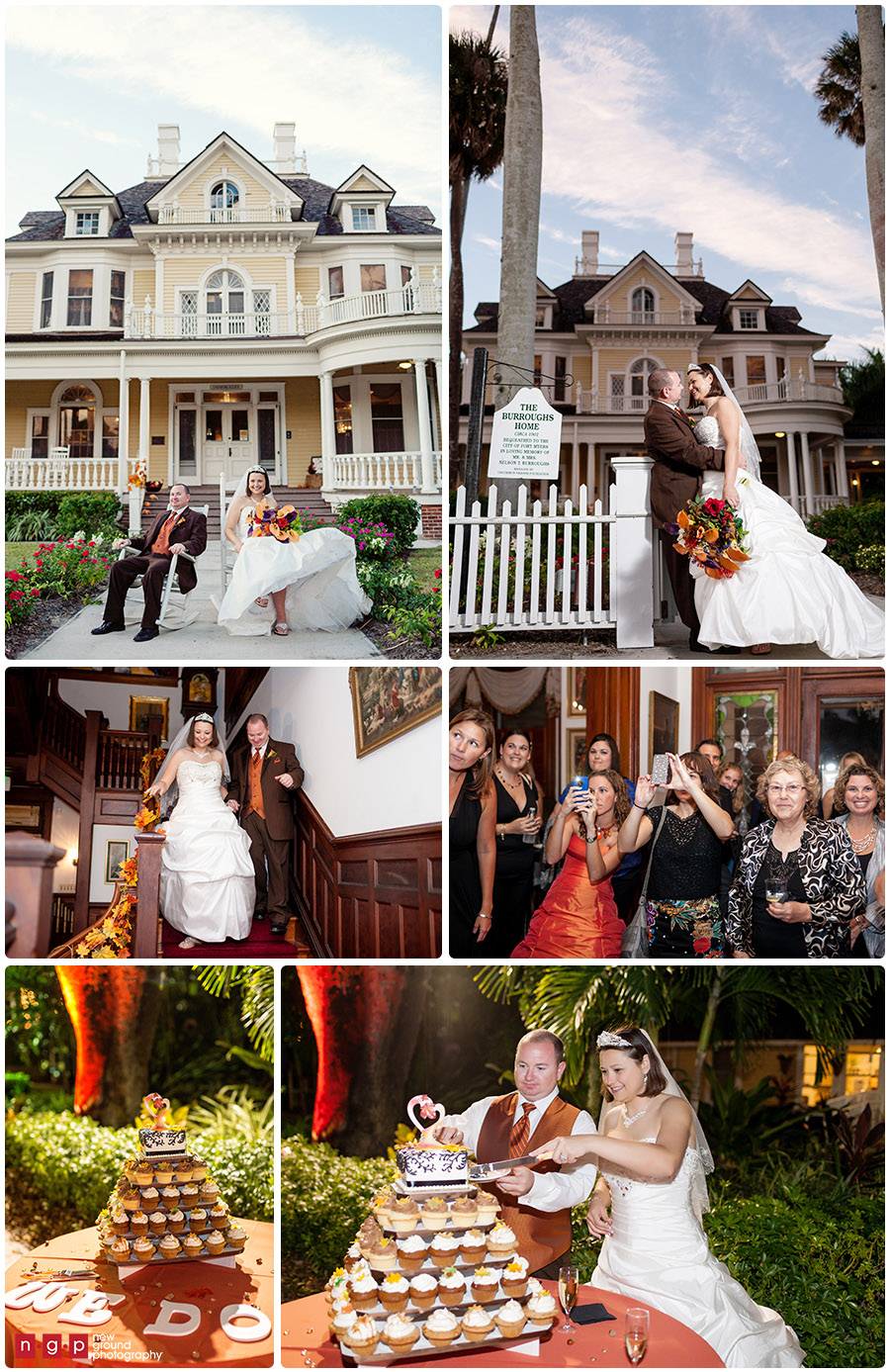 Dress Fall Wedding Reception