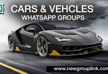 Cars and Vehicle WhatsApp Groups