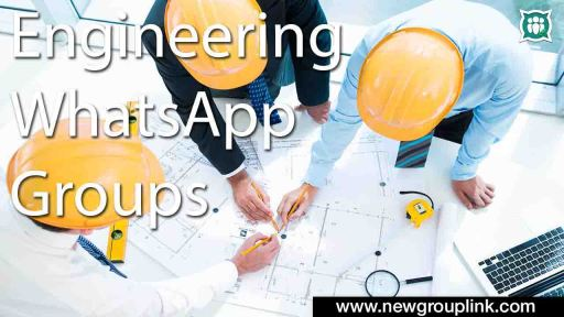 Engineering WhatsApp Group Links