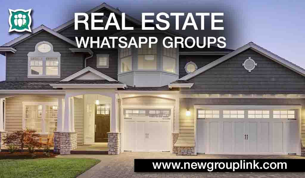 Real Estate WhatsApp Groups