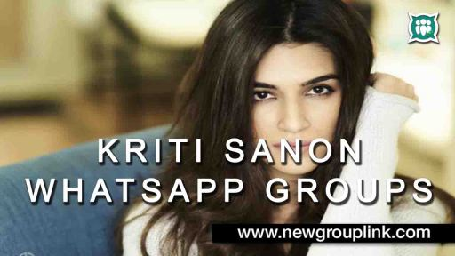 Actress Kriti Sanon WhatsApp Group Links