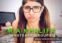 Mia Khalifa WhatsApp Groups 1
