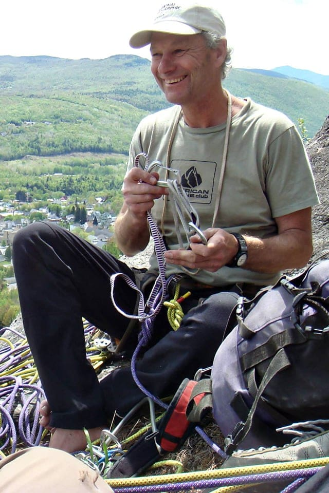 Paul Cormier - New Hampshire climbing, skiing, and mountaineering guide.