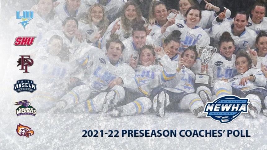 2021-22 NEWHA Preseason Coaches' Poll Announced