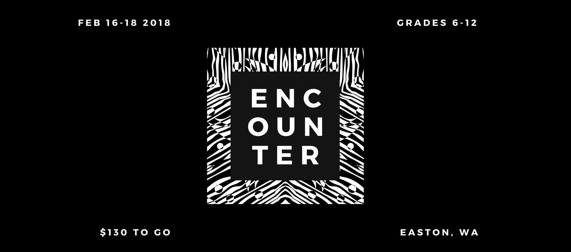 Encounter Winter Camp - $130 - February 16-18