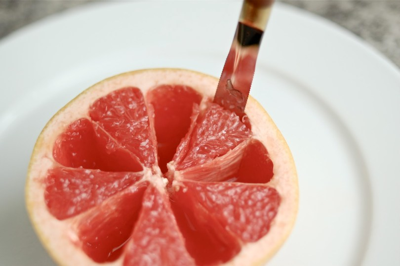 Image result for grapefruit eating