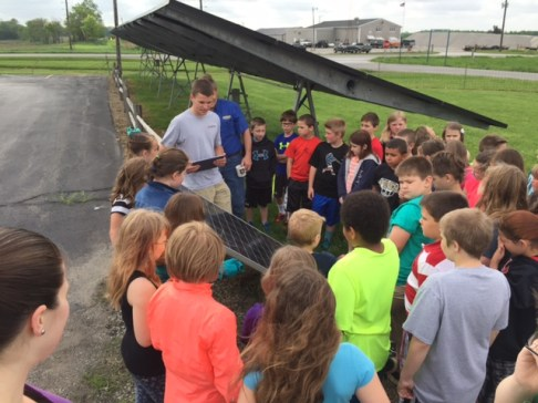 3rd Grade Solar Visit