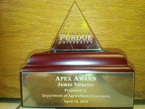 Purdue Apex Award 5-4-15