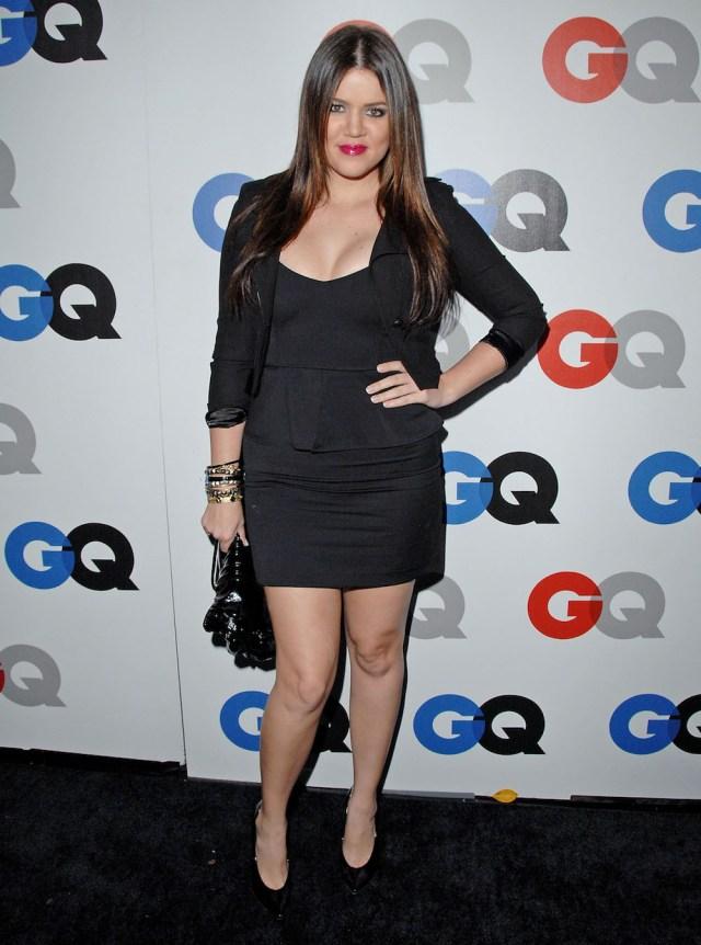 Khloe Kardashian before