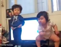 Cute Dancing Korean Baby