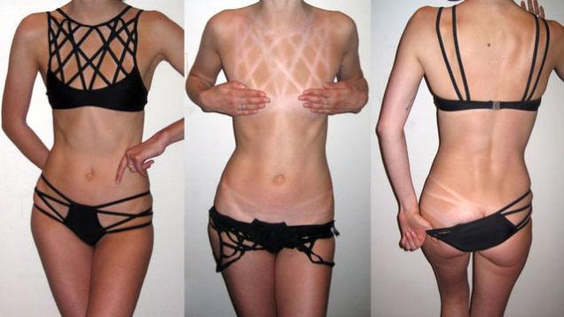 crazy bikini tans