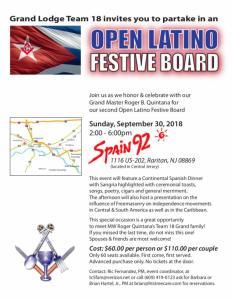 Latino Festive Board