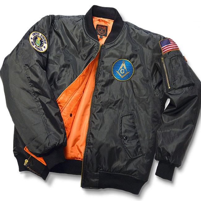 Grand Lodge of New Jersey – MASONIC MA-1 FLIGHT JACKET